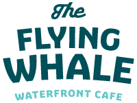 Flying Whale Waterfront Cafe logo