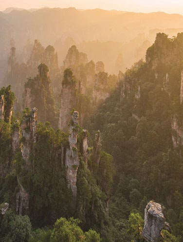 6 Cool Facts about the Zhangjiajie Peaks